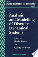 Analysis And Modelling Of Discrete Dynamical Systems