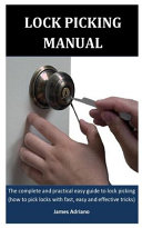 Lock Picking Manual