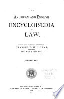 The American and English Encyclop  dia of Law  Take to Tickets and fares