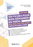 Pdf 100 fiches pour bien démarrer en prépa 2021-2022 - Maths-Physique-Chimie Telecharger
