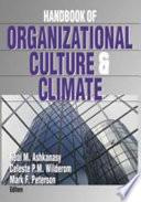 Handbook of Organizational Culture and Climate by Neal M. Ashkanasy,Celeste P M Wilderom,Mark F. Peterson PDF
