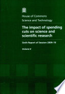 The impact of spending cuts on science and scientific research