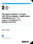 Essential Computer Concepts With Microcomputer Applications