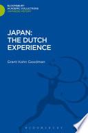Japan  The Dutch Experience