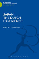 Pdf Japan: The Dutch Experience Telecharger