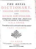 Dictionnaire de Boyer