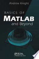 Basics of MATLAB and Beyond