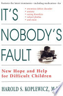 It s Nobody s Fault Book