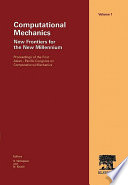 Computational Mechanics   New Frontiers for the New Millennium