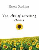 The Art of Directing Actors Book