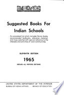 Suggested Books for Indian Schools Book PDF