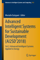Pdf Advanced Intelligent Systems for Sustainable Development (AI2SD'2018)