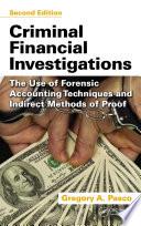 Criminal Financial Investigations