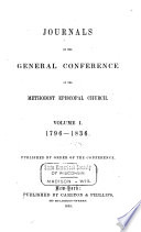 Journals of the General Conference of the Methodist Episcopal Church