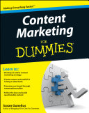 Pdf Content Marketing For Dummies Telecharger
