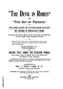 The Devil in Robes, Or the Sin of Priests