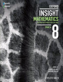 Cover of Oxford Insight Mathematics 8 Student Book