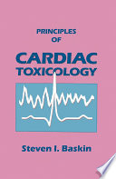 Principles Of Cardiac Toxicology Book PDF