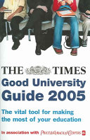The Times Good University Guide 2005