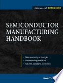 Semiconductor Manufacturing Handbook Book PDF