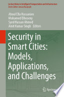 Security In Smart Cities  Models  Applications  And Challenges