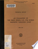 An Evaluation of the 1965.O Epoch, H.O. 1706 World Magnetic Variation Chart