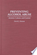 Preventing Alcohol Abuse