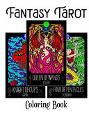 Fantasy Tarot Coloring Book
