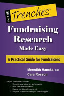 Fundraising Research Made Easy Book