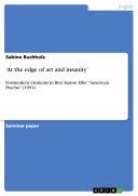 'At the edge of art and insanity' [Pdf/ePub] eBook