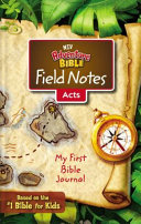 NIV  Adventure Bible Field Notes  Acts  Paperback  Comfort Print
