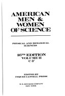 American Men And Women Of Science Book PDF