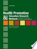 Health Promotion Education Research Methods Using The Five Chapter Thesis Dissertation Model Book PDF