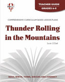 Thunder Rolling In The Mountains Teacher Guide
