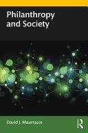 Philanthropy and Society Pdf/ePub eBook