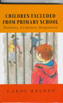 Children Excluded from Primary School
