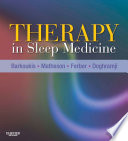 Therapy in Sleep Medicine E Book Book