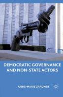 Pdf Democratic Governance and Non-State Actors
