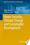 Water Security  Climate Change and Sustainable Development