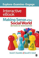 Making Sense of the Social World Interactive eBook