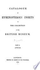 Apidae, 1854