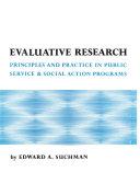 Evaluative Research