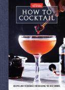 How to Cocktail [Pdf/ePub] eBook