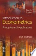 Introduction To Econometrics: Principles And Applications, 8/E