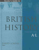Reader S Guide To British History Book
