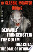 10   lassic Monster books  Illustrated Book