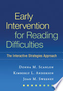 Early Intervention For Reading Difficulties First Edition