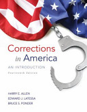 Corrections in America + Mycjlab With Pearson Etext