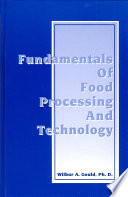 Fundamentals Of Food Processing And Technology Book PDF