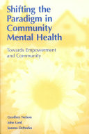 Pdf Shifting the Paradigm in Community Mental Health